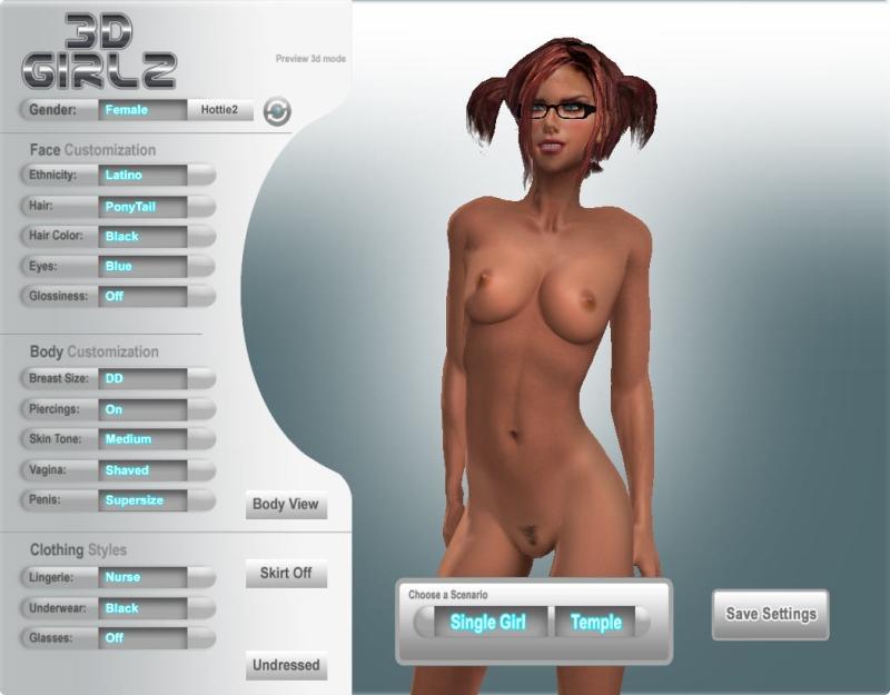 Секс Игры Создание Персонажа