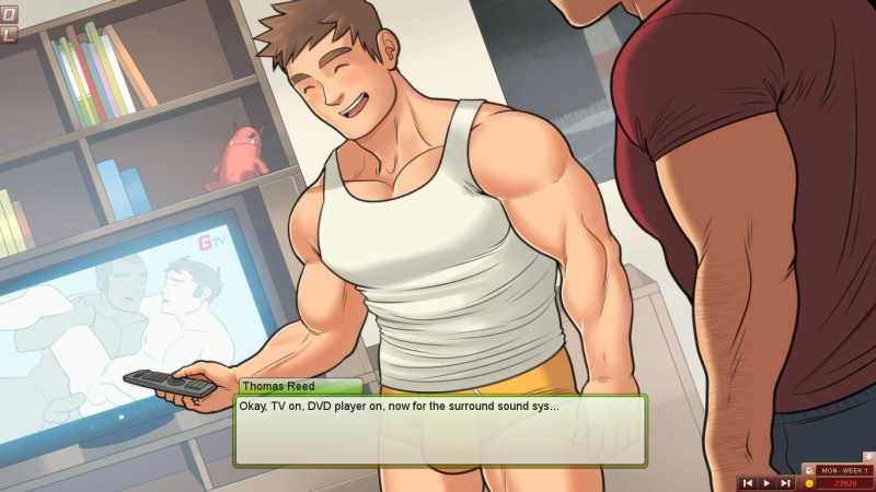 Gay Dating Sim
