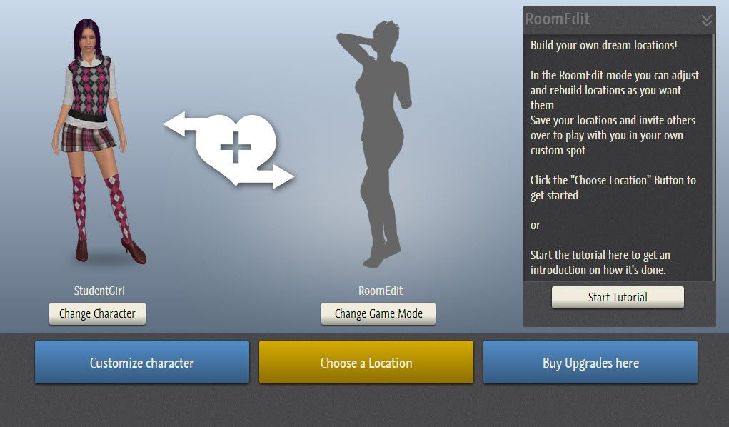 3dx chat room editor