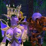 The Elf Queen sucks a dildo