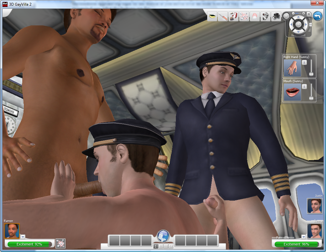 from Odin nude gay pilot