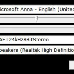 Speech synthesis options