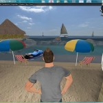 The 3D Sex beach