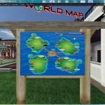 The Virtual World map