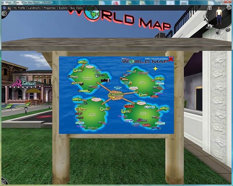 Adult Virtual World Game 66