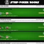 Strip Poker XXX rooms