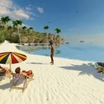 3DX Chat beach