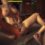 Juliet Sex Session cum on pussy