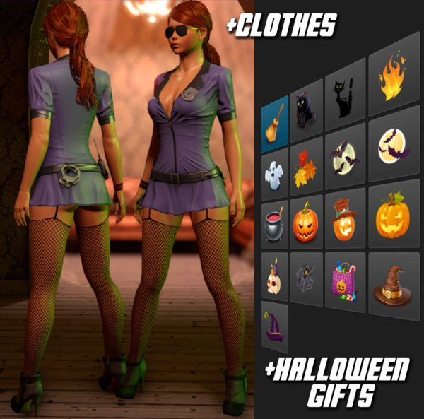 3DXChat Halloween gifts