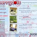 Cherry Dolls location selection screen