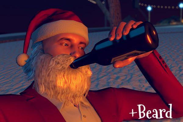3DXChat Xmas updates Santa beard