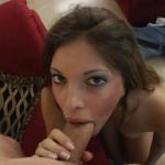 VirtualFem Morgan Dayne sucking cock