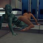 FLSM Gina rides the Lizard man