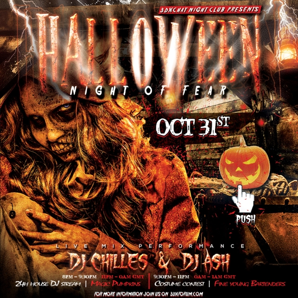 3DXChat Halloween Party 2015 - Night of Fear