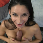 VirtualFem Nikki Daniels gives a titty fuck