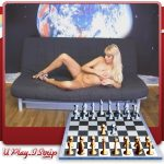 Sexy Chess opponent naked