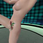 3D Gogo2 virtual stripper high kicking