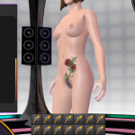 3D Gogo 2 tattoo selector
