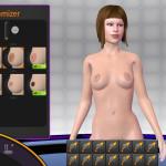 3D Gogo 2 nipple type chooser
