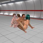 3D SexVilla 2 foursome in the metro