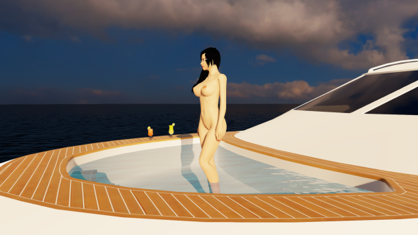 New lighting and textures aboard the 3DXChat 2.0 yacht