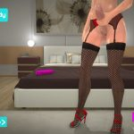 Brittany Home Alone DLC lower and stockings
