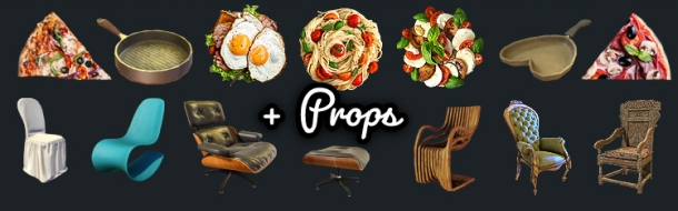 New 3DXChat Props