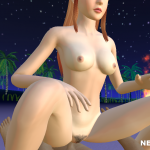 Redhead having sex on the beach in Beauty 3D
