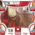Kristel does a sexy strip in Strip Poker