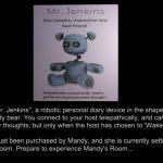 Mandy's Room Mr. Jenkins