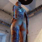 3DXChat tattoos (female)