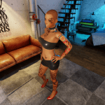 3DXChat tattoos (female)