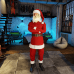 3DXChat Santa suit and beard