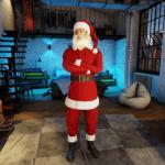 3DXChat Santa suit and beard
