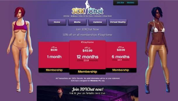 3DXChat Coronavirus Lockdown Discount
